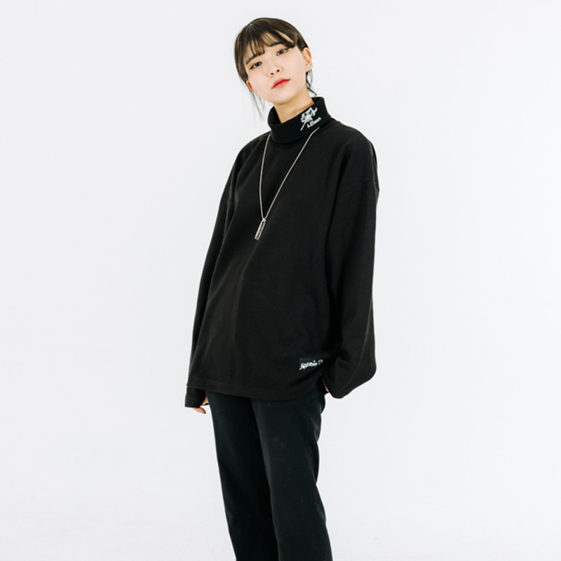 Dandelion Pola-Neck Long-Sleeve(목폴라티)