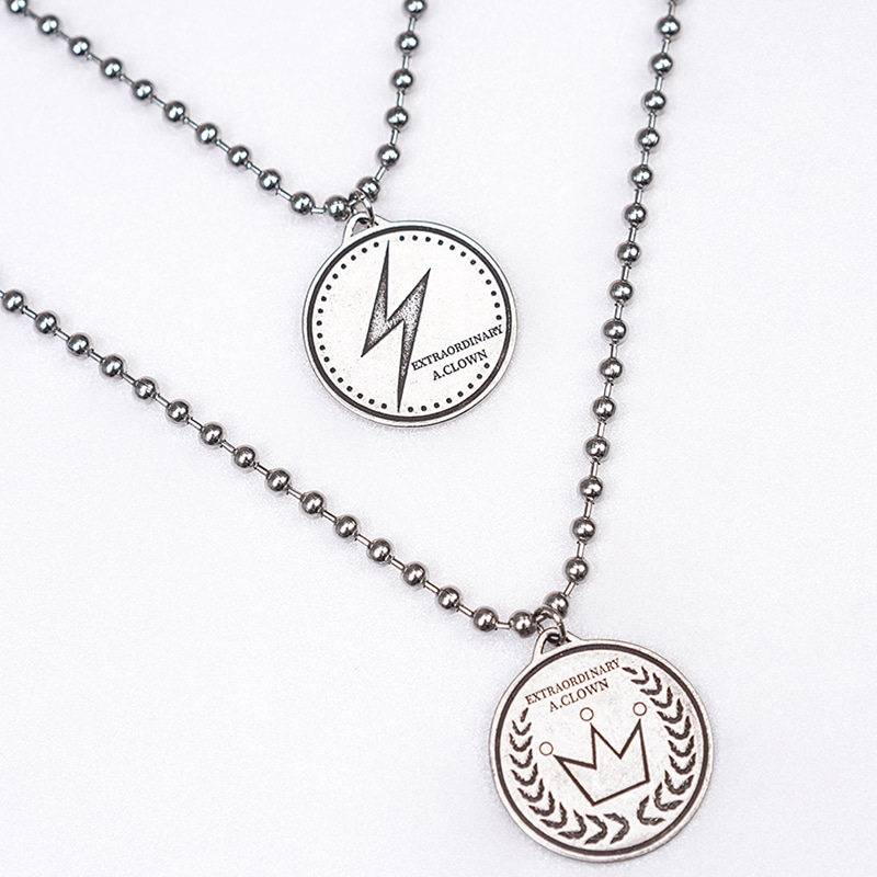 ACL Crown/Lightening Necklace (Reversible)(양면)
